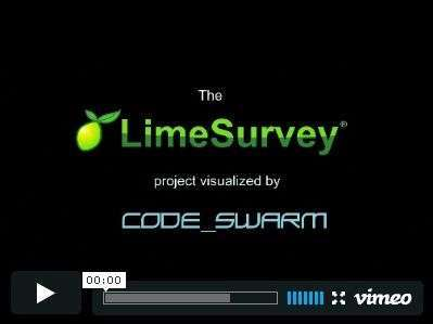 LimeSurvey code_swarm video